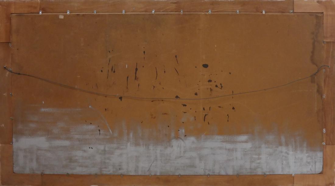 Extensive Mountain Landscape - Oil on Board - 6