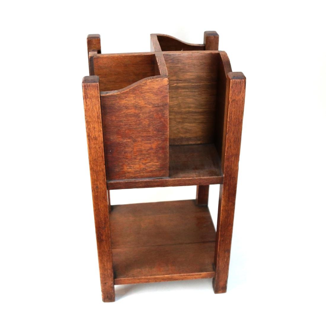 Stickley-Style Book Table