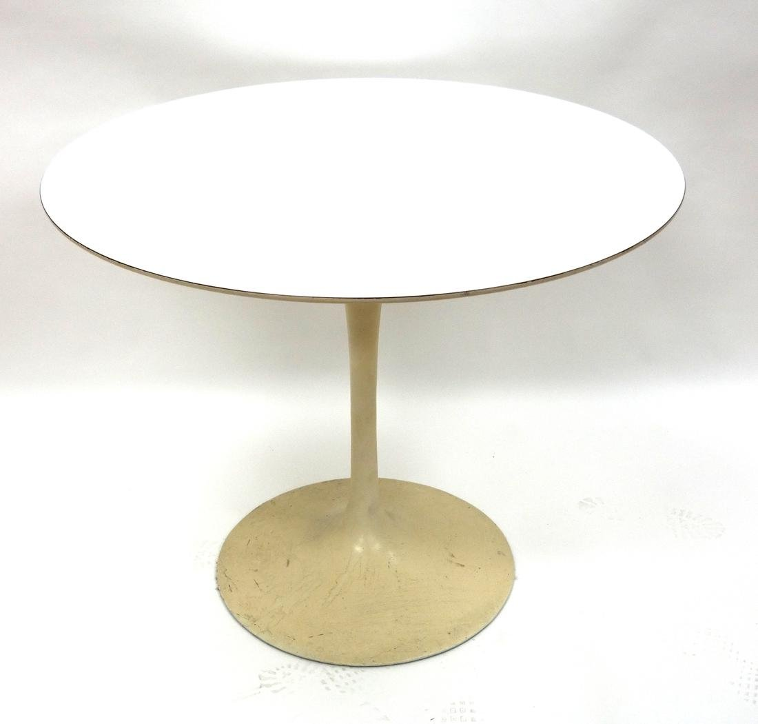 Modern Tulip Table, Labeled Knoll - Herman Miller