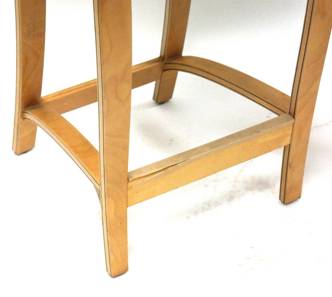 Pair of Modern Maple Stools by Plycraft, MA. - 3