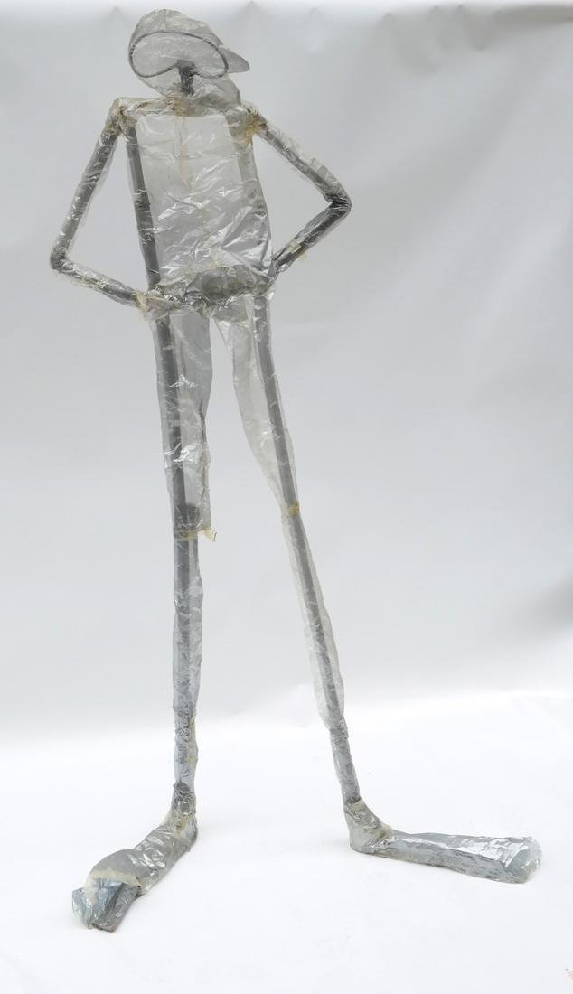 William Dickey King, 'VINYL MAN' Sculpture