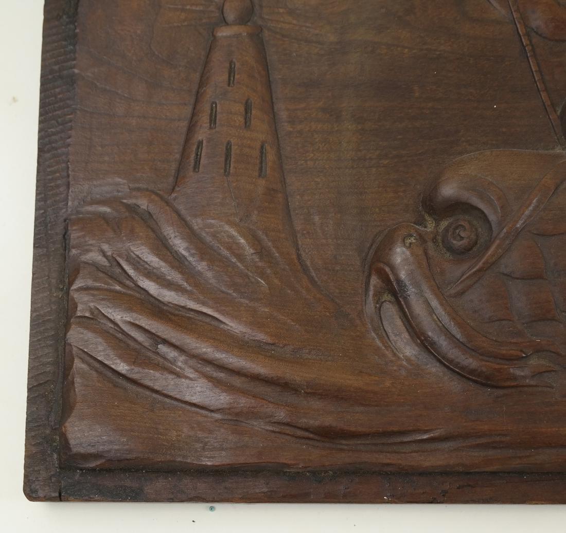 Wood Relief of Cherubs - 4