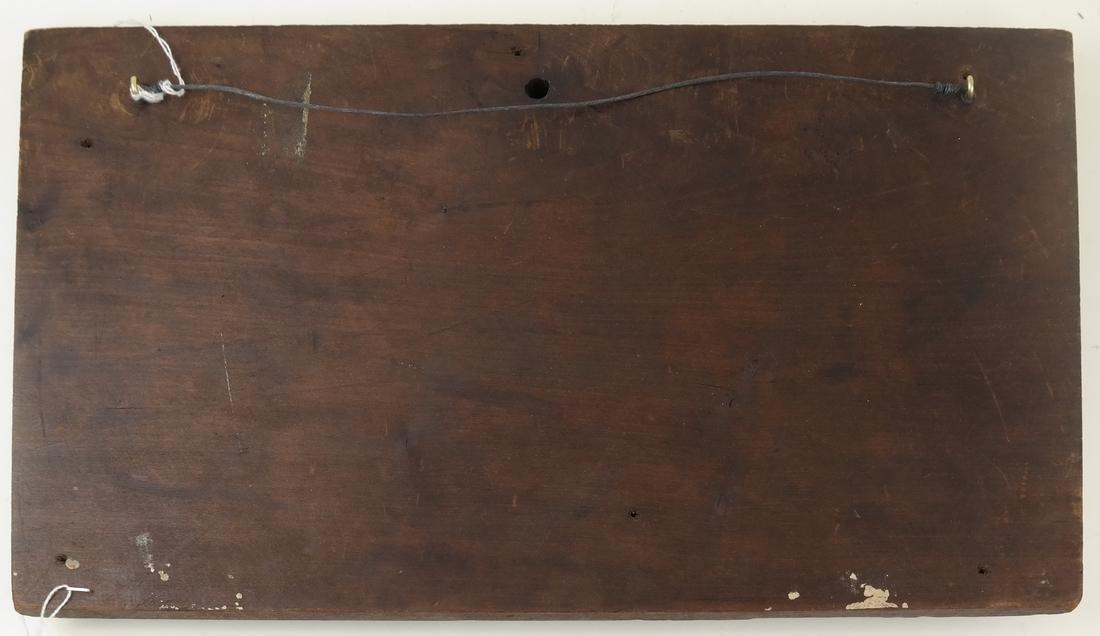 Wood Relief of Cherubs - 5