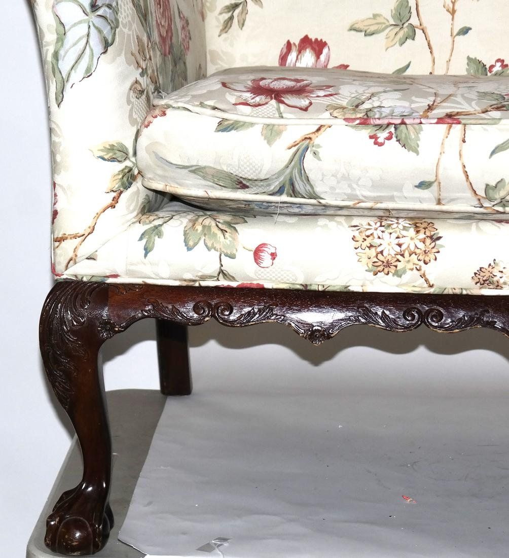 Antique Chippendale-Style Camel Back Sofa - 2