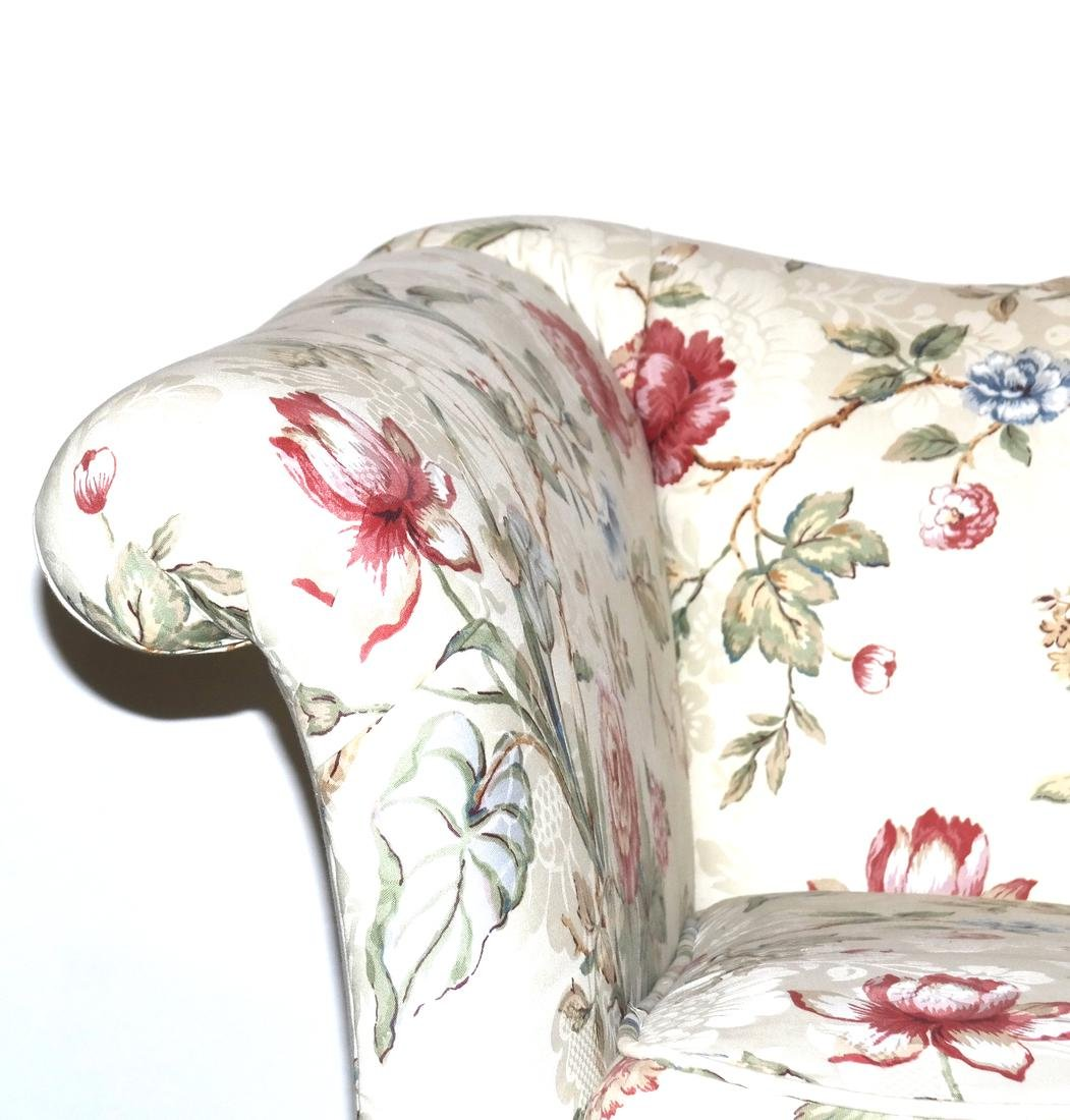Antique Chippendale-Style Camel Back Sofa - 3