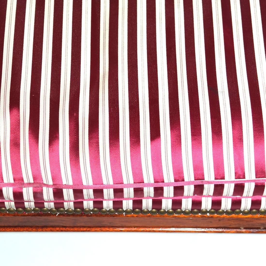 Regency-Style Mahogany Window Bench - 3