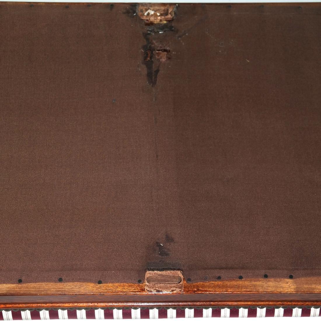 Regency-Style Mahogany Window Bench - 5