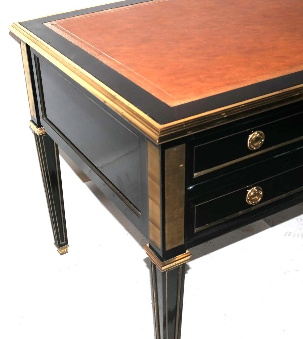 French Directoire-Style Leather Top Bureau Plat - 3