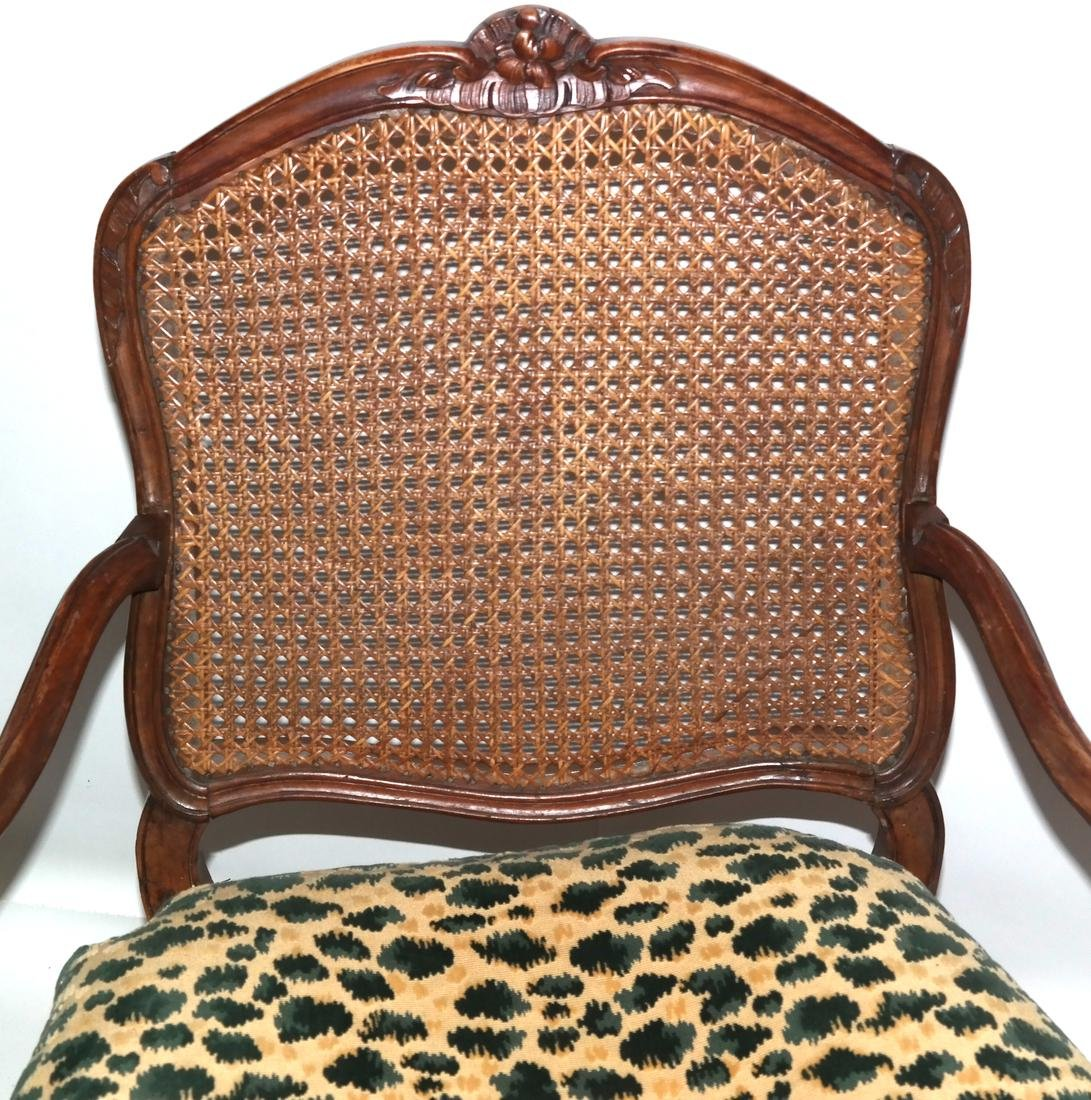 Provencial-Style Caned Chair - 2
