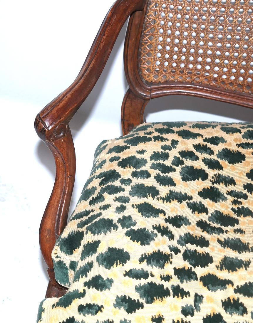 Provencial-Style Caned Chair - 4