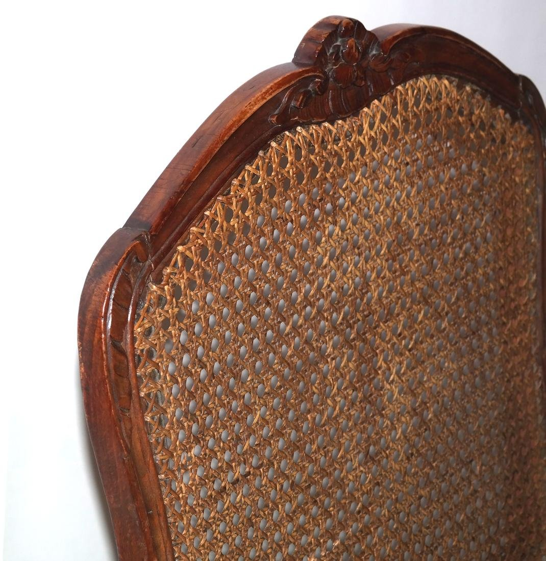 Provencial-Style Caned Chair - 7