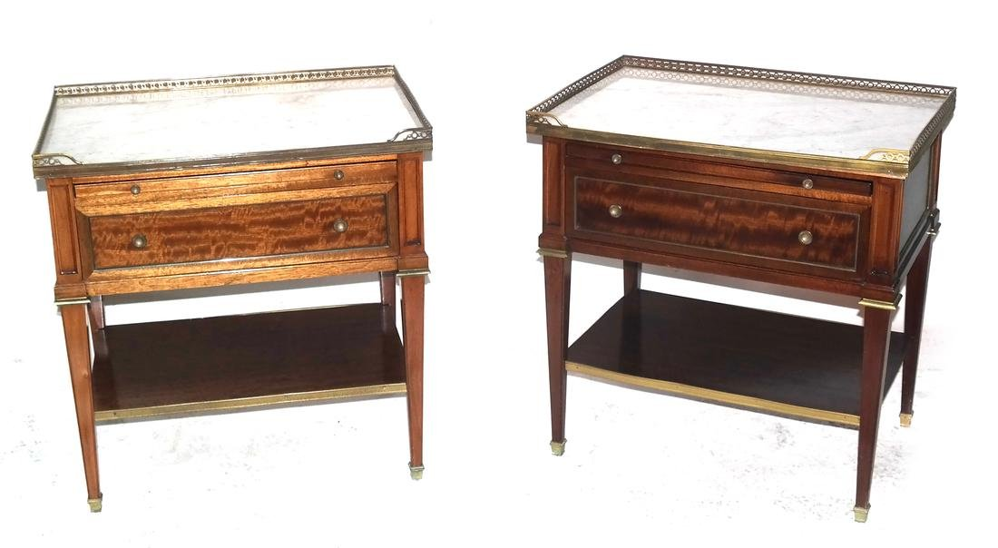 Pair of French Two-Tier Tables