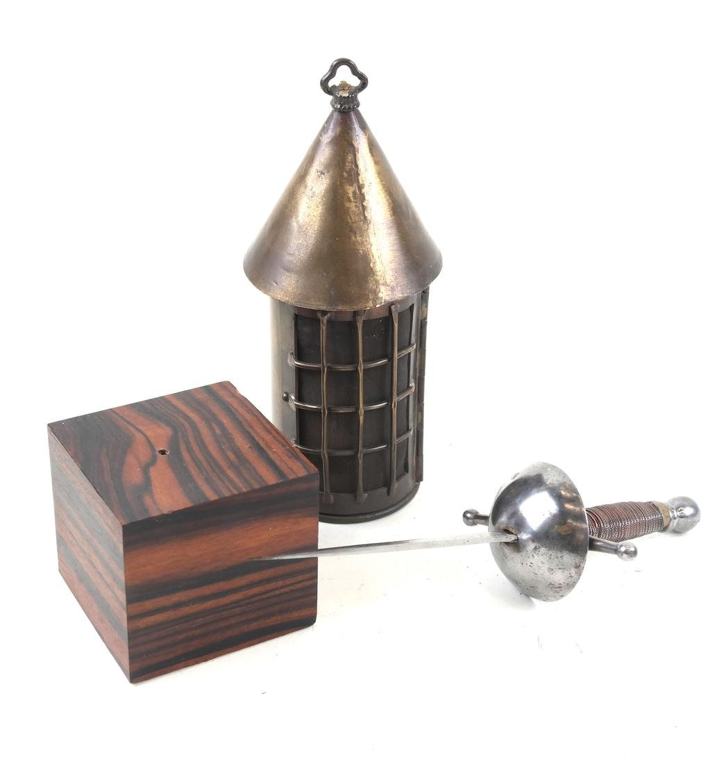 Charles Lamb, Dagger and Lantern