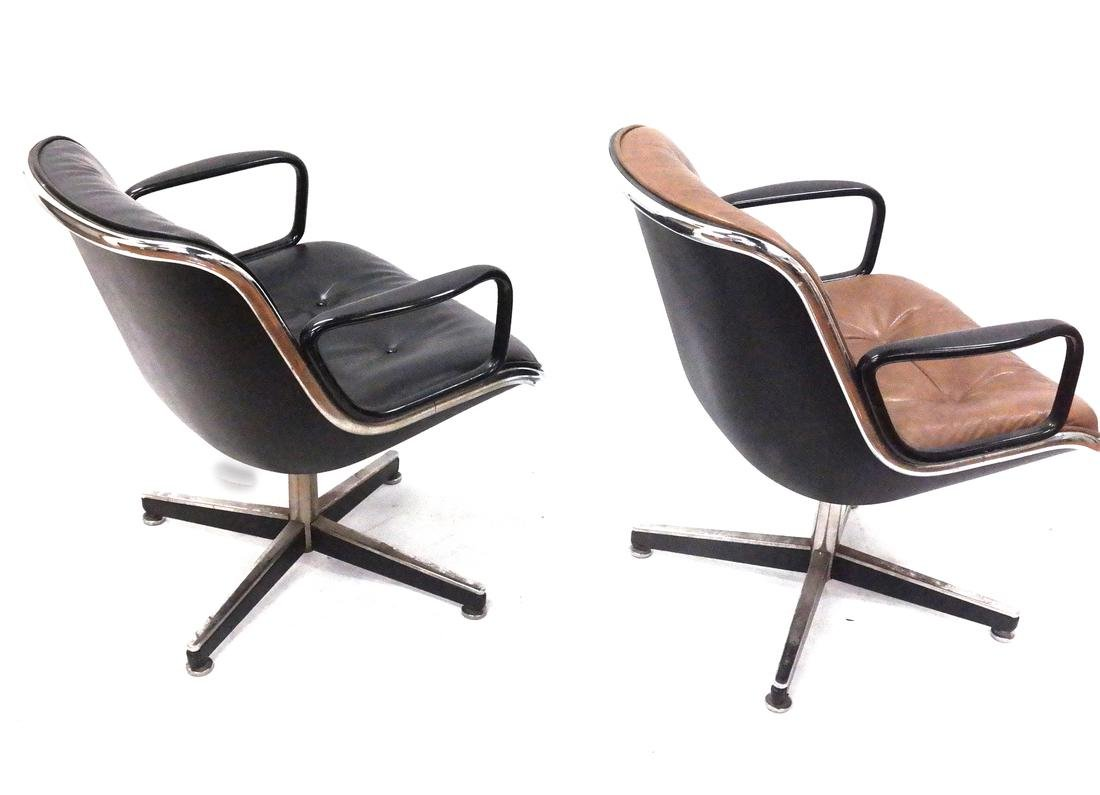 Two Knoll Swivel Chairs - 6