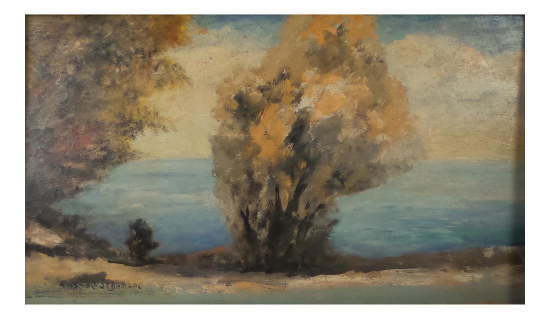 Andre Segonzac, Impressionist Landscape