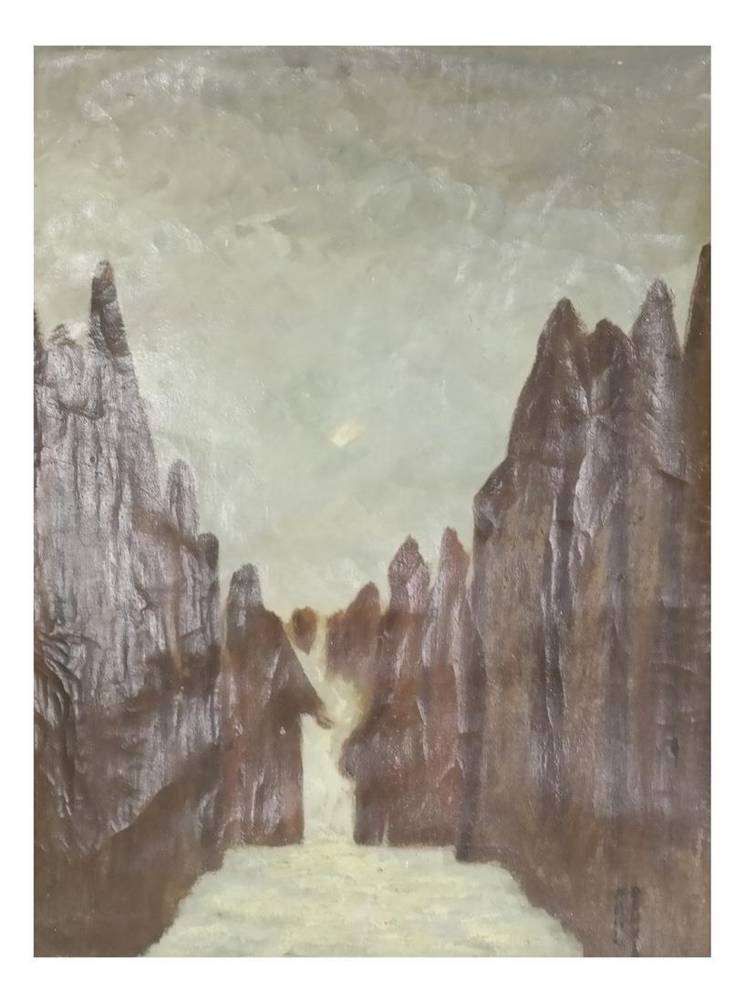 Paul Dennis & M.B. Rogers: Landscape & Water Scene