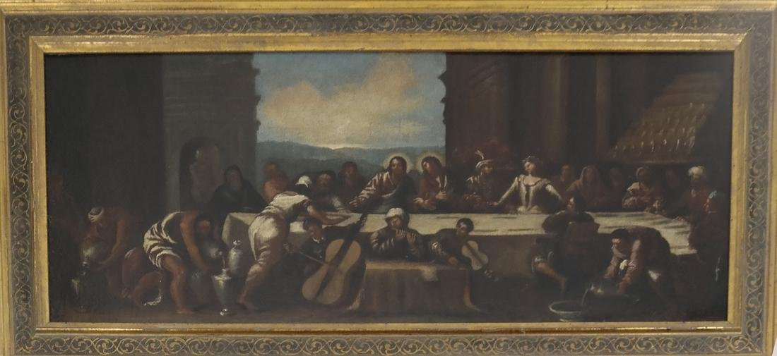 "Oil on Canvas, ""The Last Supper"" - 2"