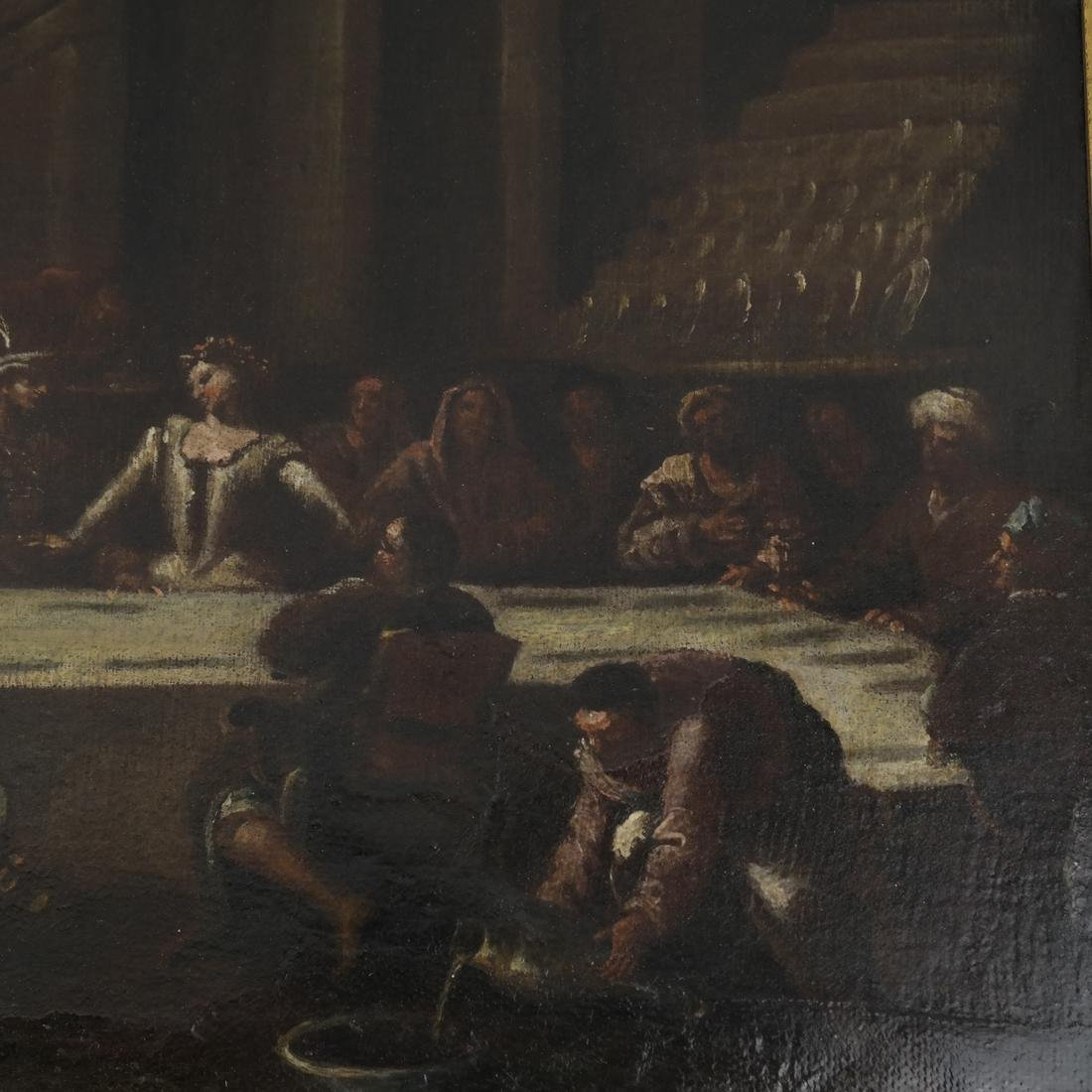 "Oil on Canvas, ""The Last Supper"" - 5"