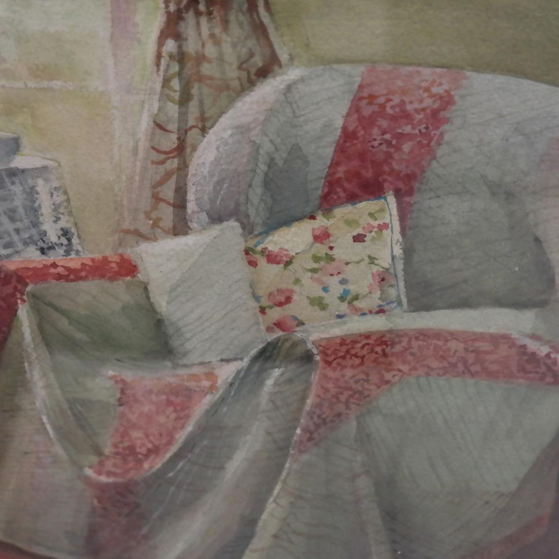Arlene Cornell - NY Interior - Watercolor - 3