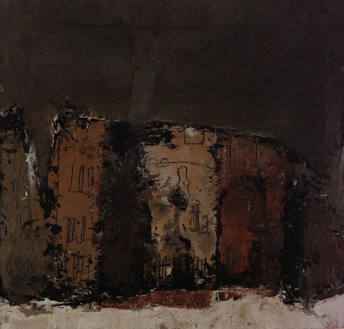 William Congdon, Abstract View Piazza Rome, No. 3 - 3