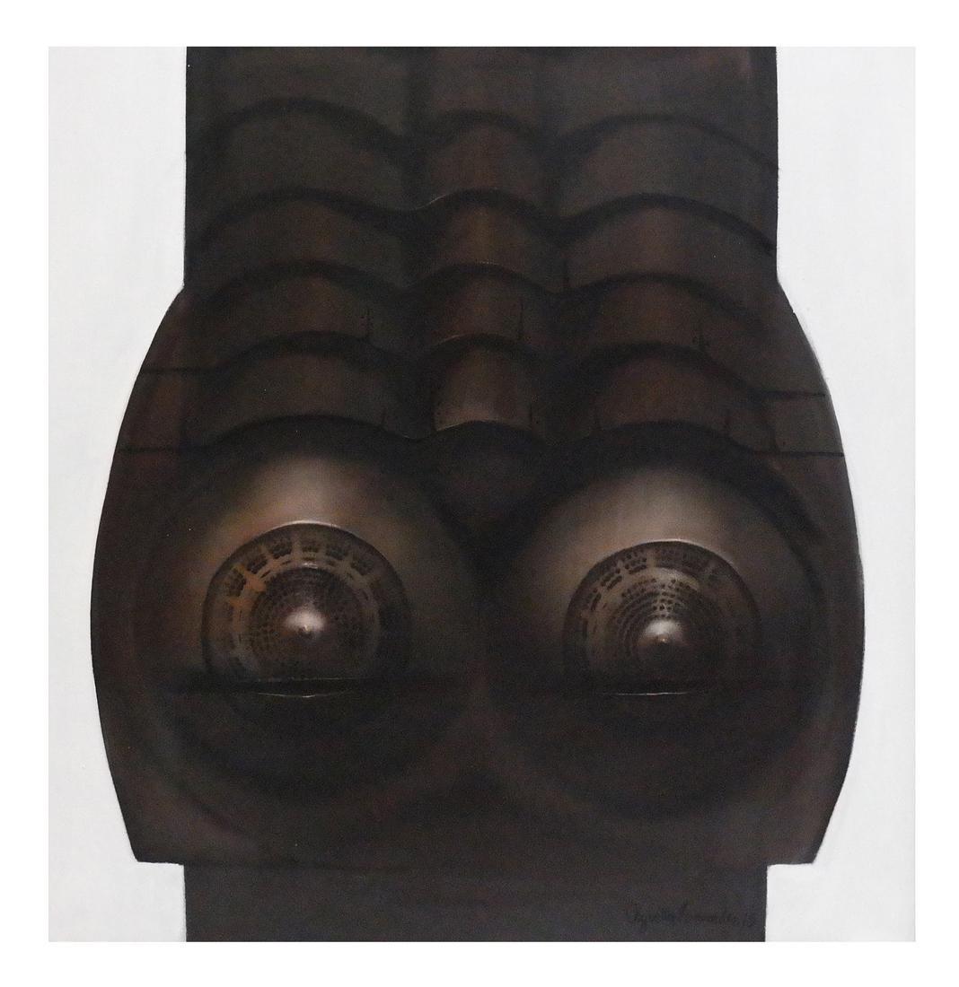 Augustin Fernandez, Abstract Torso - Untitled
