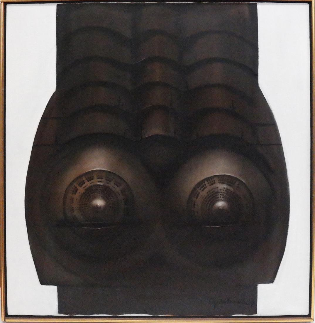 Augustin Fernandez, Abstract Torso - Untitled - 2