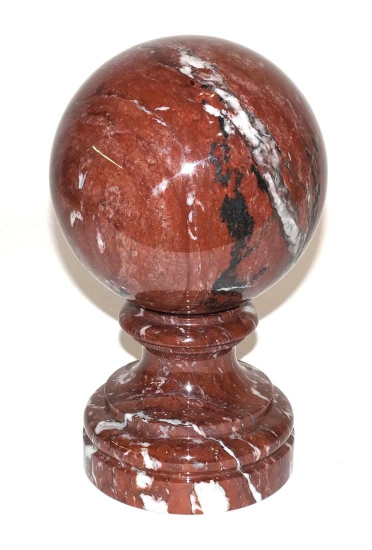 Rouge Marble Large Orb