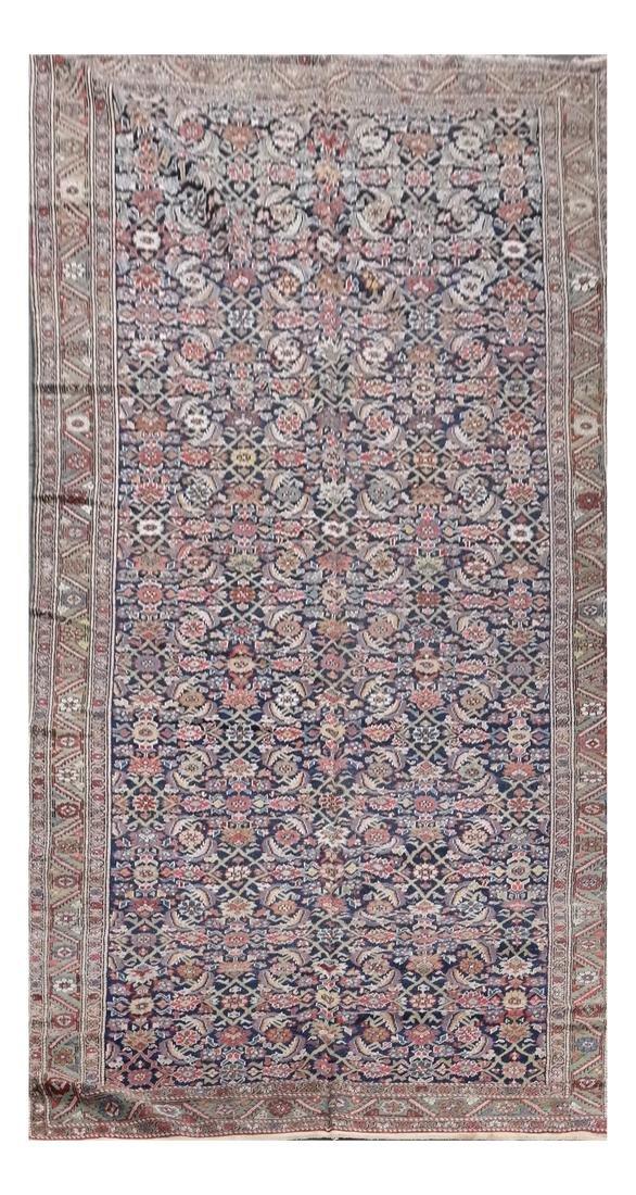 Semi-Antique Geometric Carpet