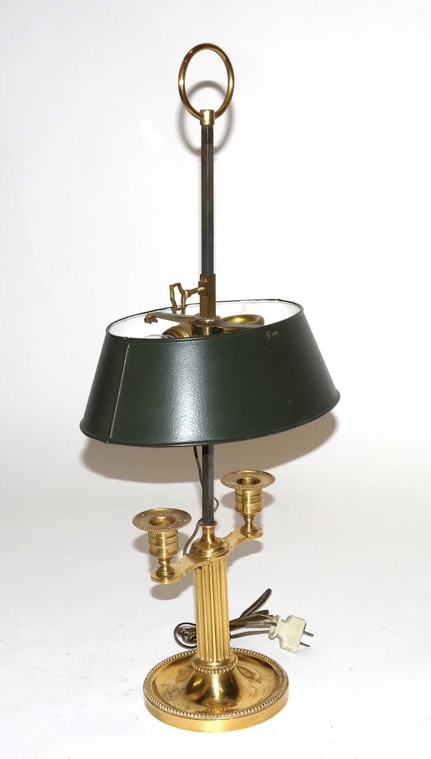 Bronze Dore Boudoir Lamp