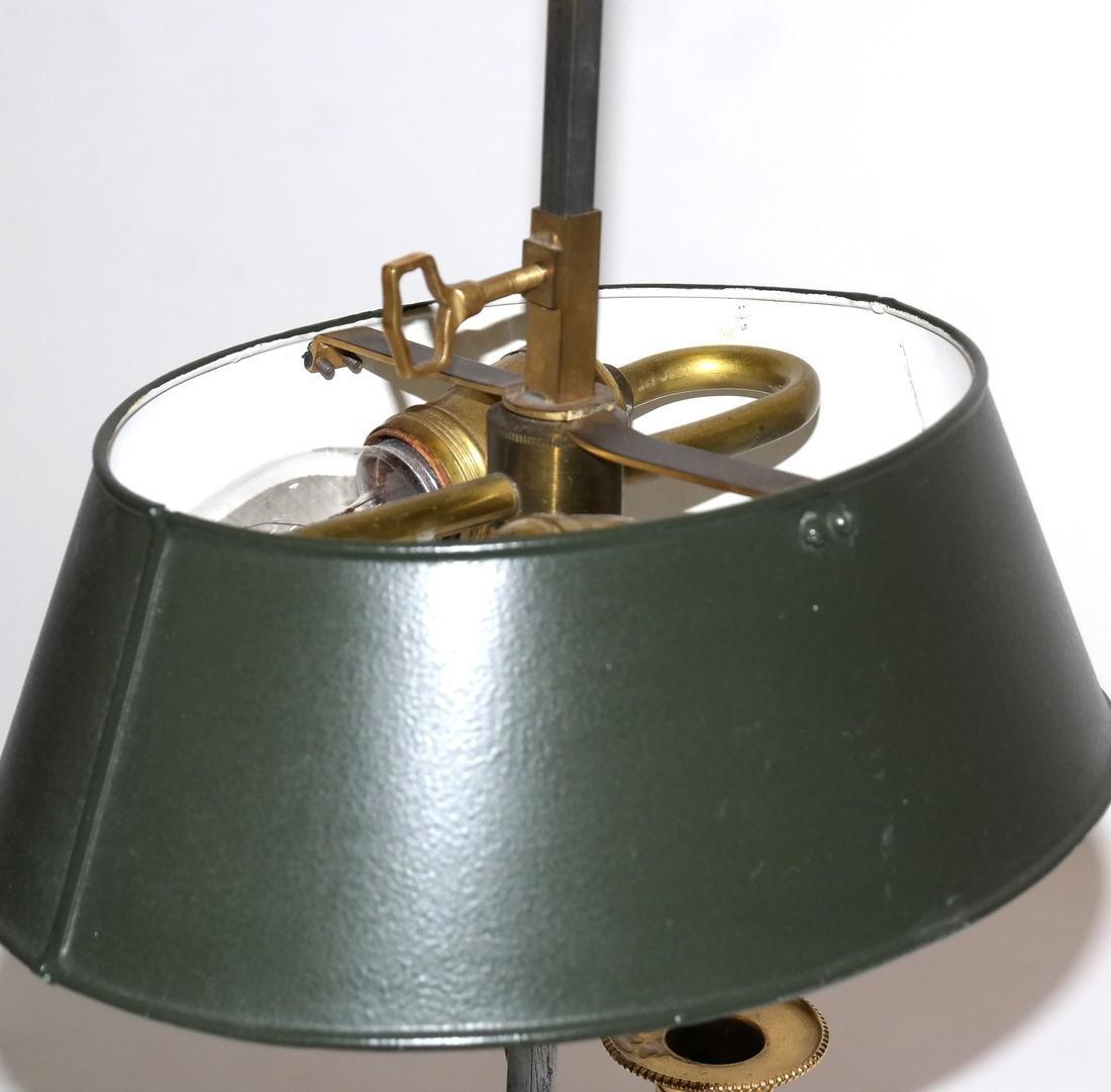 Bronze Dore Boudoir Lamp - 4