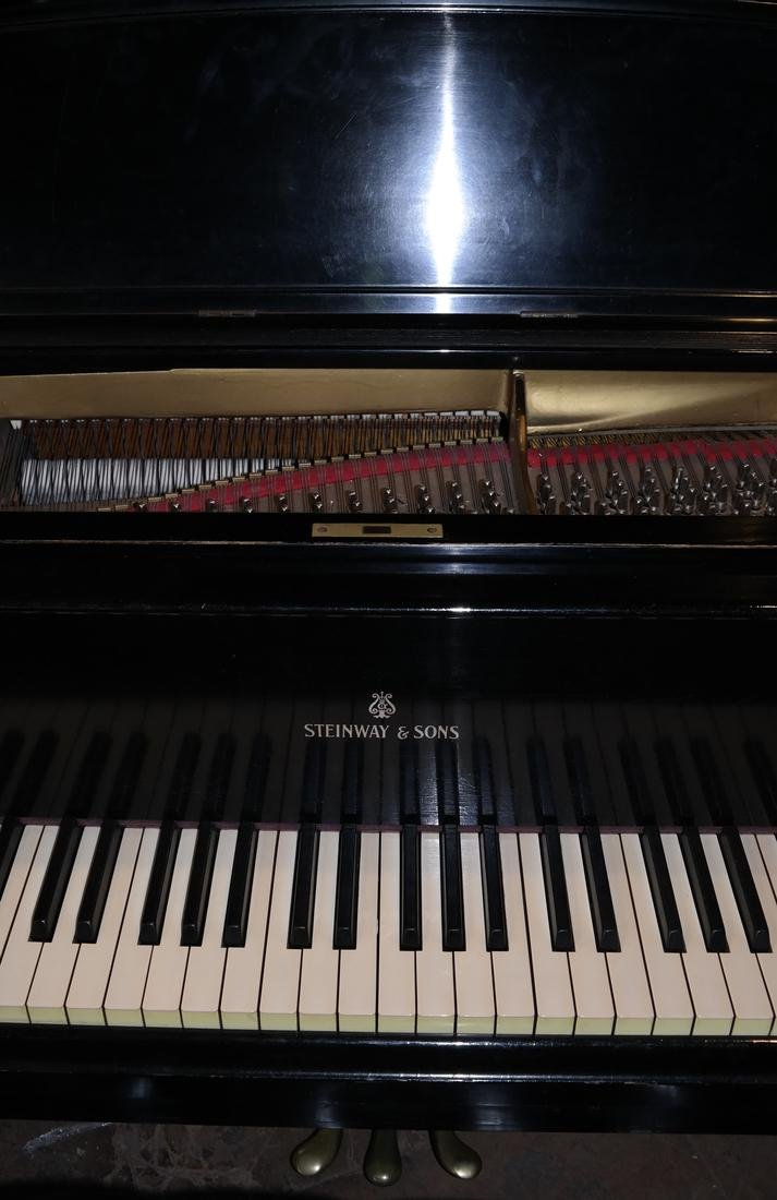 Steinway & Sons Model B Grand Piano and Bench - 2