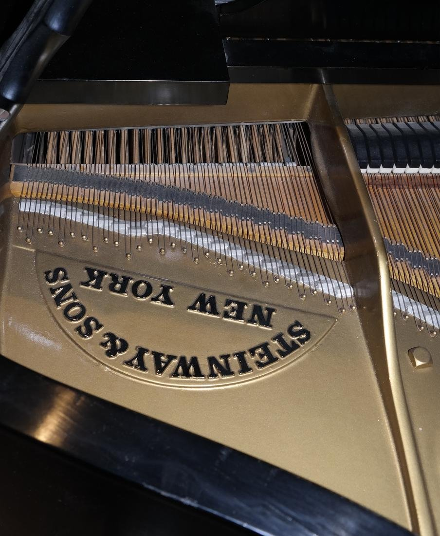 Steinway & Sons Model B Grand Piano and Bench - 4