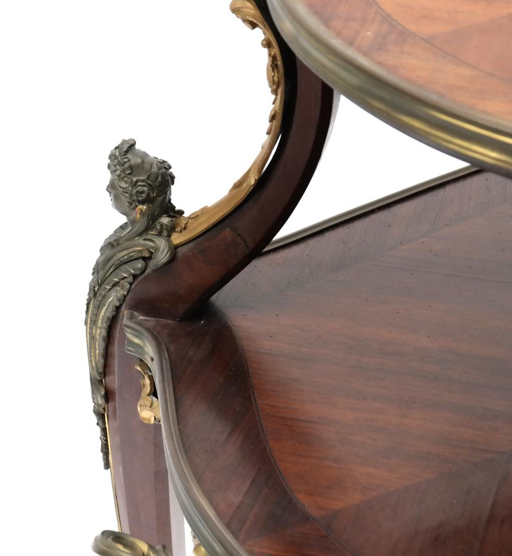 19th Century French Figural Two-Tier Table - 3
