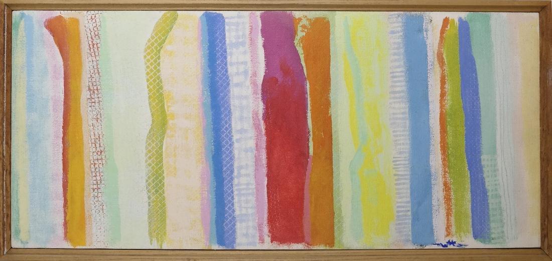 Robert Natkin (1930-2010) Abstract Apollo Series # 882 - 2