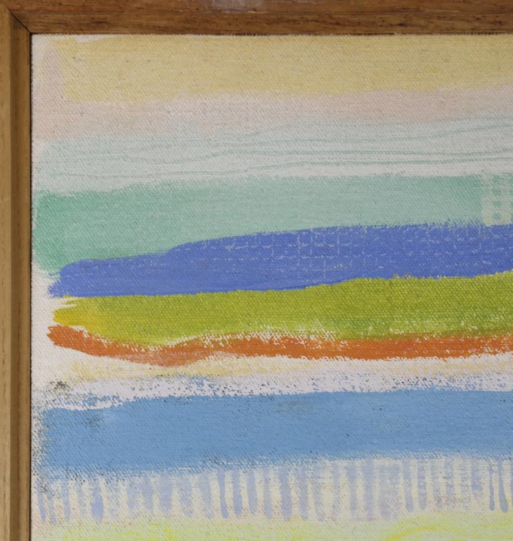 Robert Natkin (1930-2010) Abstract Apollo Series # 882 - 3