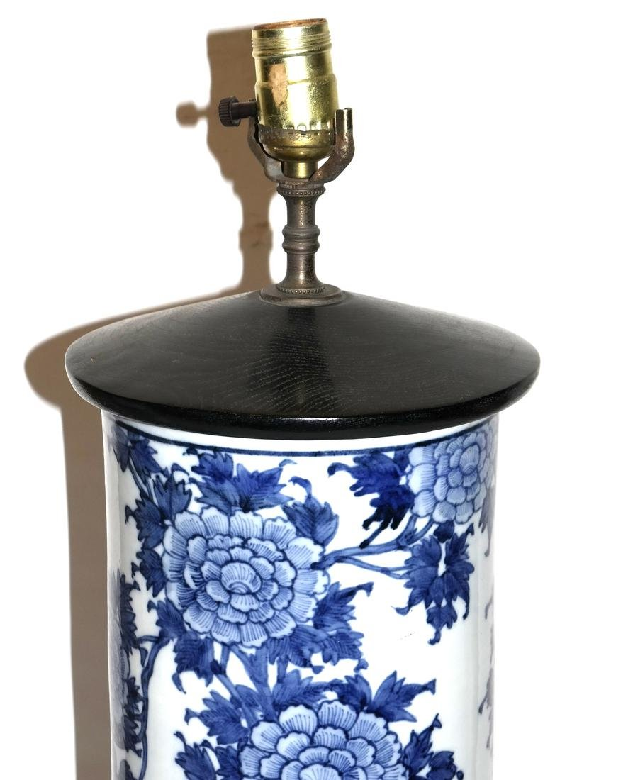 Pair of Chinese Porcelain Table Lamps - 2
