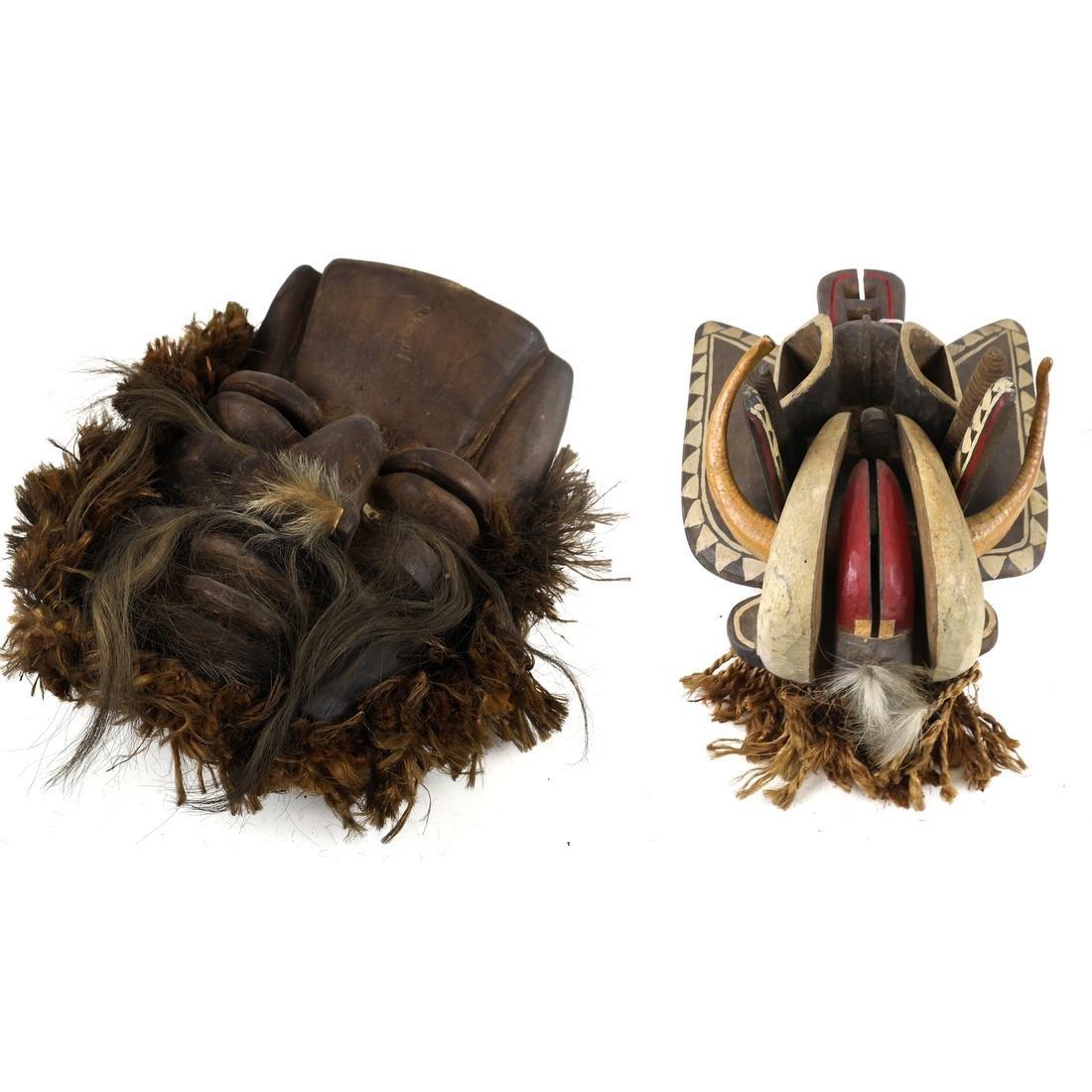 Two Ethnic Masks