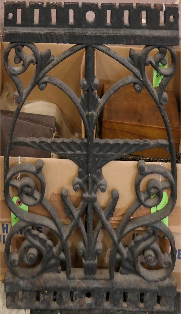 Decorative Iron Grate or Panel
