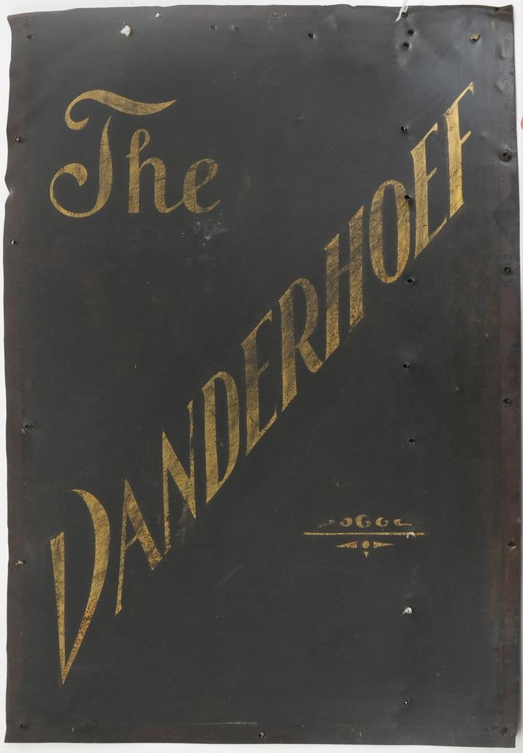 Tin Vintage Advertising Sign