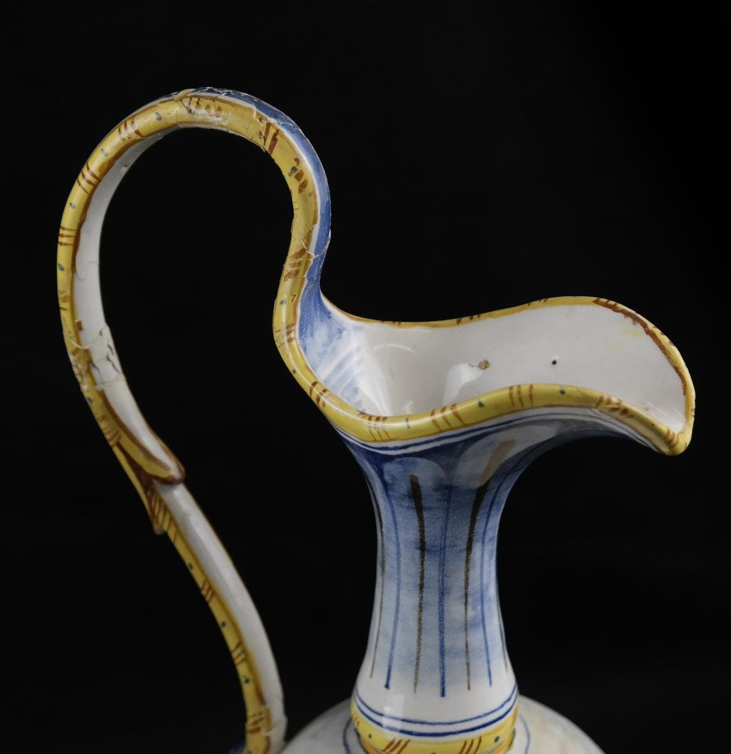 Pair of Porcelain Decorated Ewers - 2