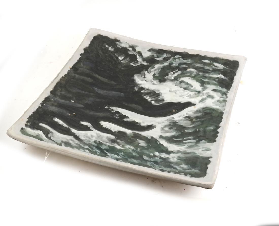 "Robert Berlind, ""The Wave"" Ceramic"