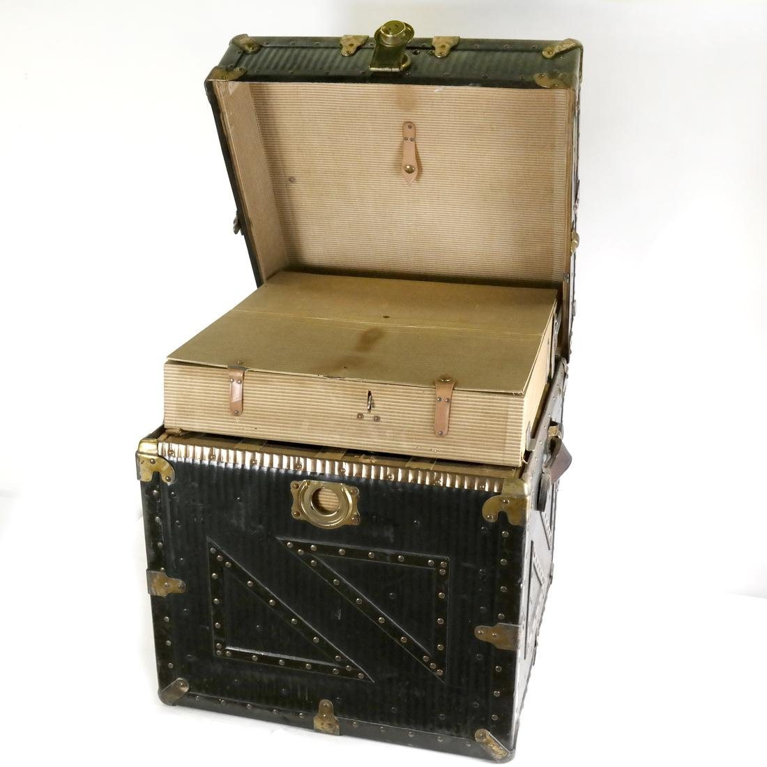 Antique Steamer Trunk by Innovation