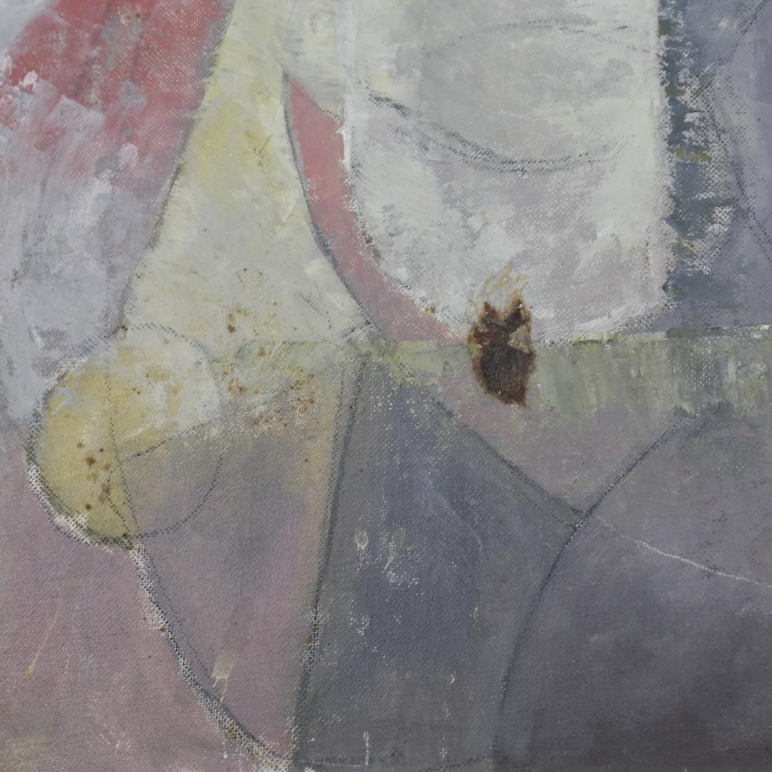 Julio Rosado del Valle, Portrait, Oil on Canvas Board - 2