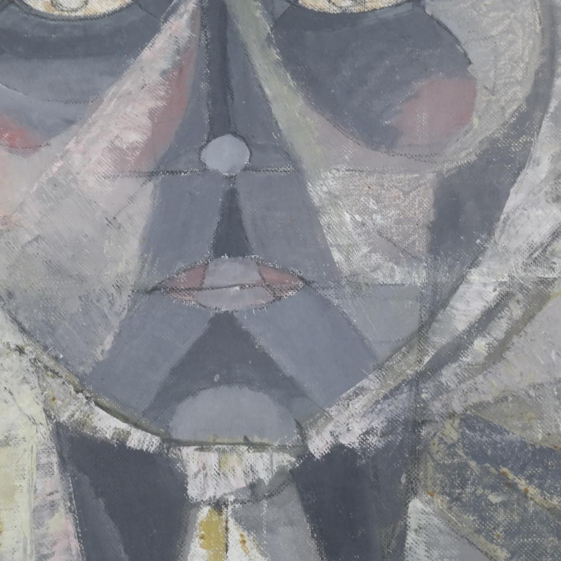 Julio Rosado del Valle, Portrait, Oil on Canvas Board - 3