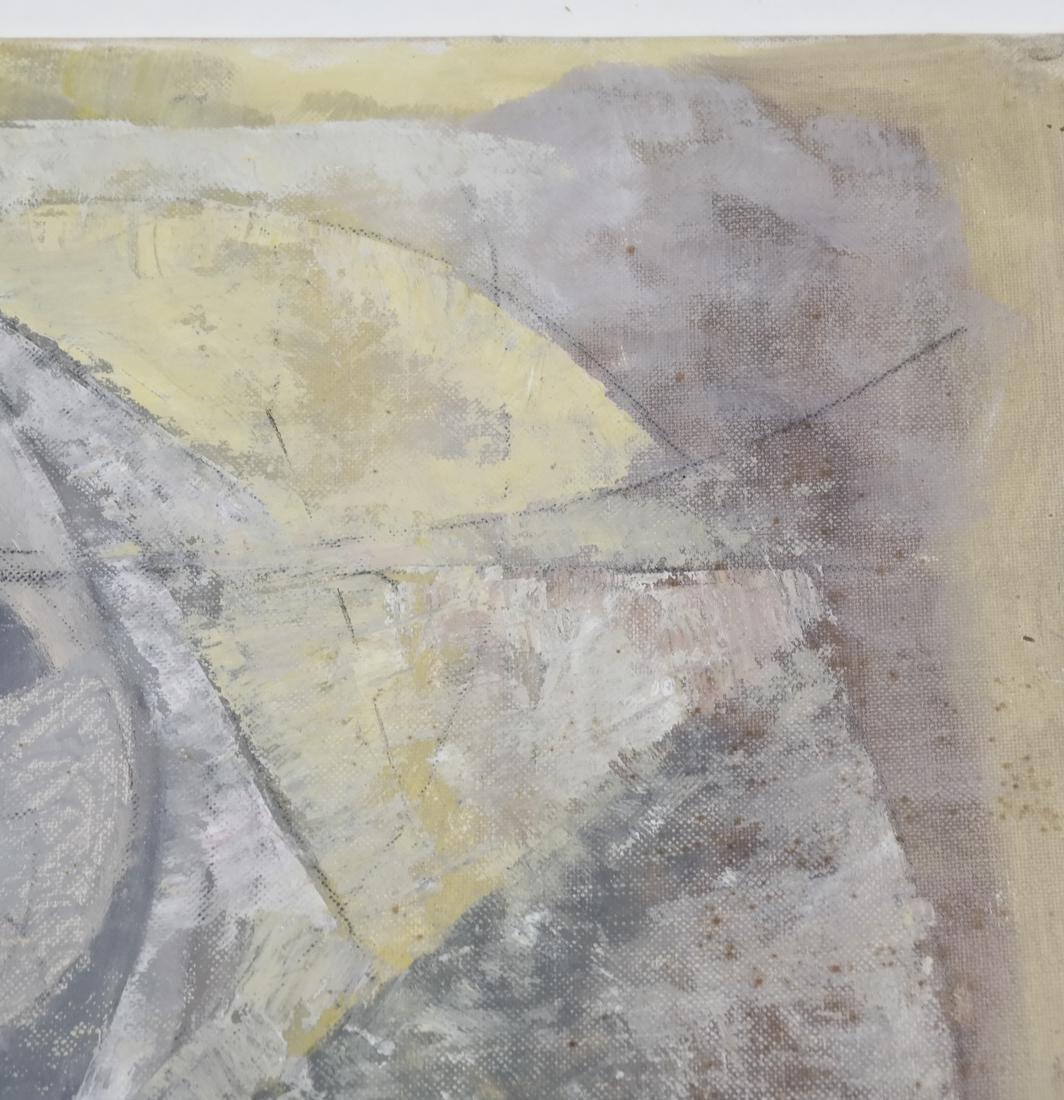 Julio Rosado del Valle, Portrait, Oil on Canvas Board - 4