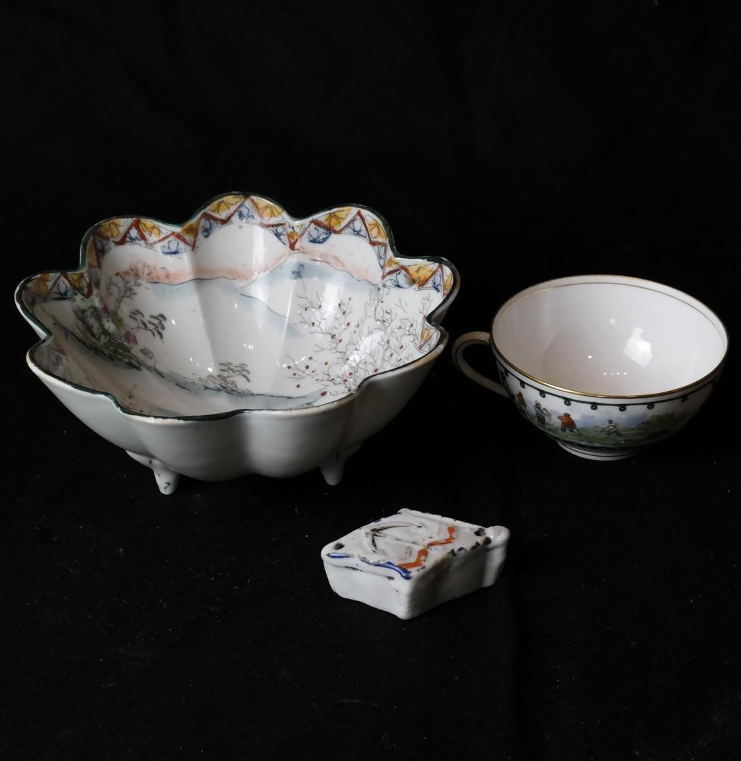 Lot of 3 Assorted Ceramic Articles