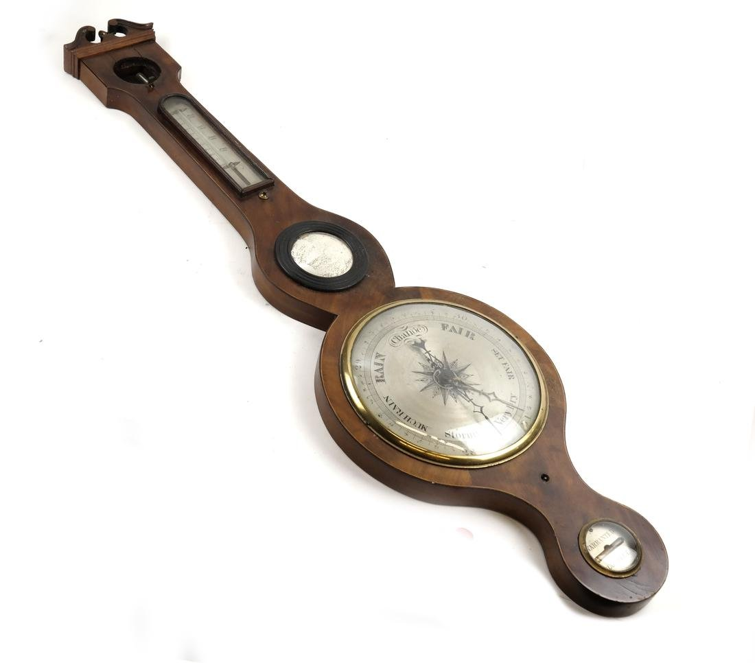 Americana Mahogany Barometer