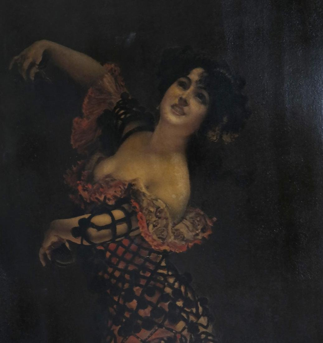 Leopold Schmutzler, Flamenco Dancer - Print on Canvas - 4