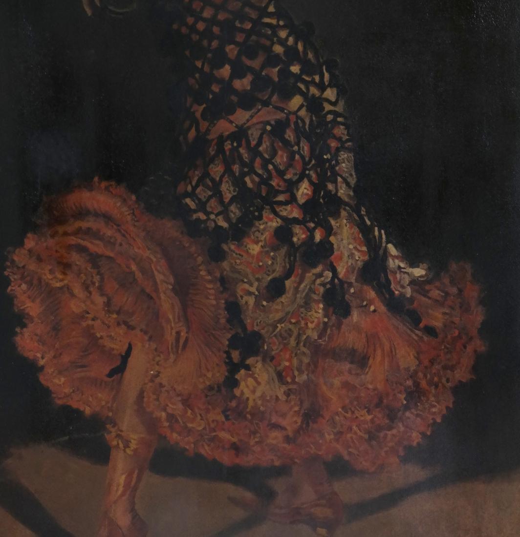 Leopold Schmutzler, Flamenco Dancer - Print on Canvas - 5