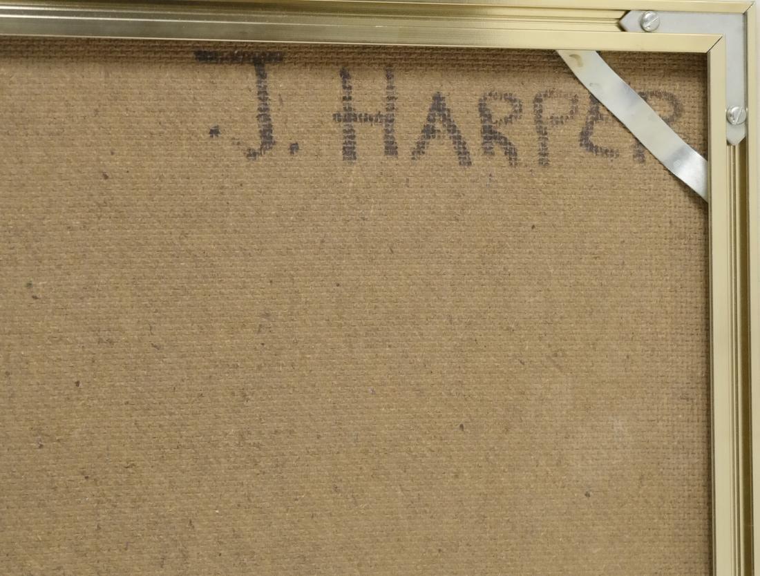 Judith Harper, Acrylic on Board - Flowers - 7